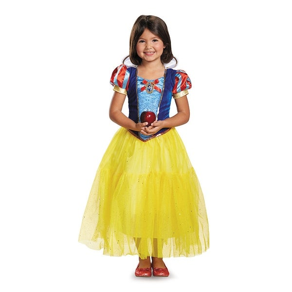 a3f3bd8a6 Shop Girls Deluxe Snow White Disney Princess Costume - Free Shipping On Orders  Over $45 - Overstock - 14672137