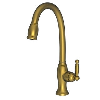 Newport Brass 2510-5103 Nadya Single Handle Kitchen Faucet with Pull-down Spray (More options available)
