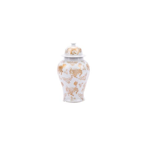 Kylin Porcelain Jar