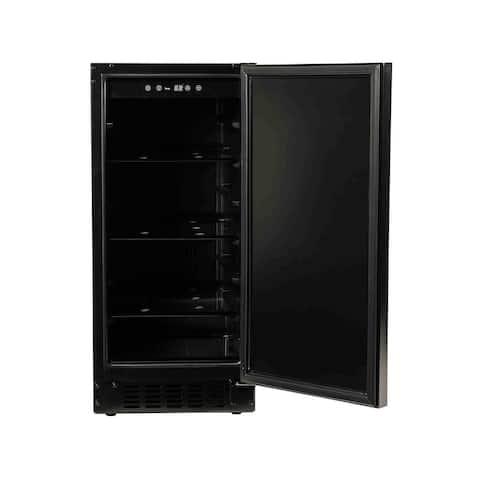 """15"""" Refrigerator with Solid Overlay Door"""