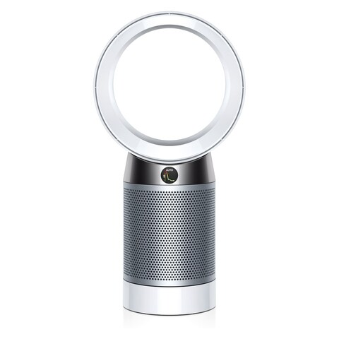 Dyson DP04 Pure Cool Desk Fan Air Purifier with Remote (Amazon Alexa) - White/Silver