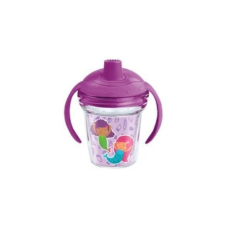 Mermaid in Training 6 oz Sippy with lid