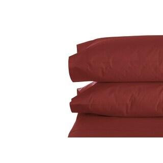 Set of 2 Pillow Cases Super Soft Hypoallergenic 1800 Feel Brushed Microfiber