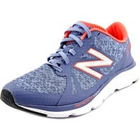 New Balance W690 Women  Round Toe Synthetic Blue Running Shoe