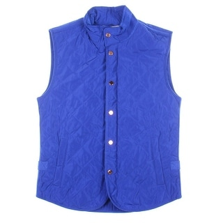 Zara Mens Quilted Solid Packable Vest