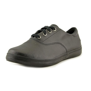 Grasshoppers Janey II WW Round Toe Leather Sneakers
