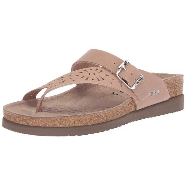 62080cf7d152 Shop Mephisto Womens Helen Leather Open Toe Casual Platform Sandals ...