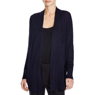 Vince Womens Cardigan Sweater Open Front Banded - s