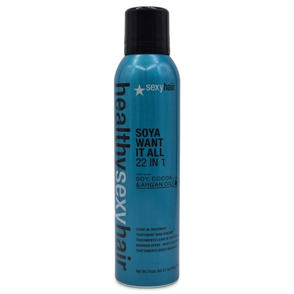 Sexy Healthy Sexy Hair Soya Want It All 22-in-1 Leave-In Treatment 5.1 Oz