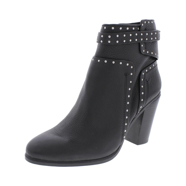 Vince Camuto Womens Faythes Ankle Boots Studded Stacked