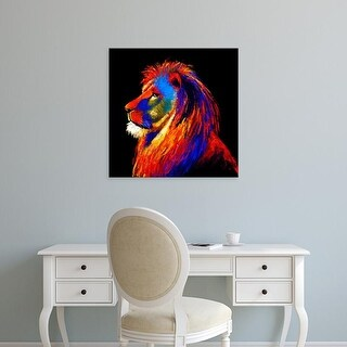 Easy Art Prints Clara Summer's 'The Lion' Premium Canvas Art