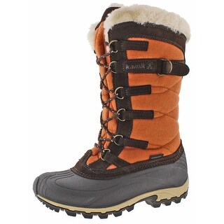 Kamik Snowvalley Women's Waterproof Nylon Snow Boots (3 options available)