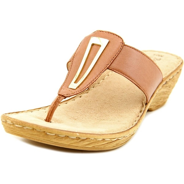 Bella Vita Sulmona Women W Open Toe Leather Wedge Sandal