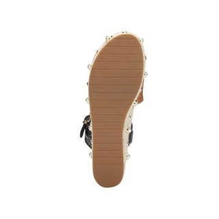 Link to Kenneth Cole New York Women's Indra Studs Platform Espadrille Sandal with Ank... Similar Items in Women's Shoes