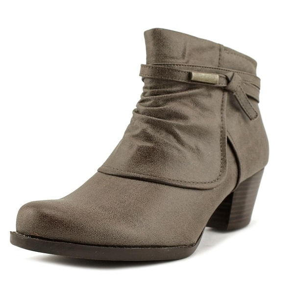 Baretraps Rhapsody Women Round Toe Synthetic Brown Ankle Boot