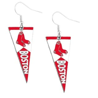 Boston Red Sox Pennant Earring