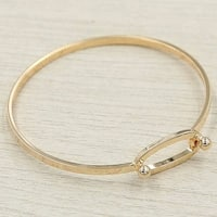 Mad Style Rose Gold Infinity Latch Bracelet - rose gold