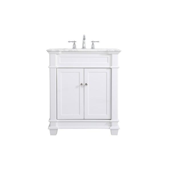 West Bathroom 30 Inch Vanity Set. Opens flyout.