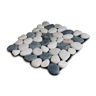 Miseno MT-P3PBWT Pebble Natural Stone Mosaic Tile (10.12 SF / Carton)