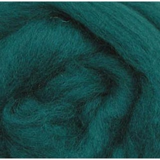 "Teal - Wool Roving 12"" .22Oz"