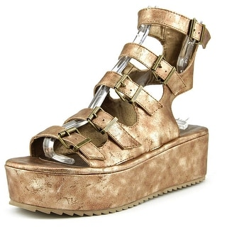 Penny Loves Kenny Chatter Women Open Toe Synthetic Gladiator Sandal