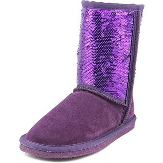 Lamo K5005 Youth Round Toe Suede Purple Winter Boot