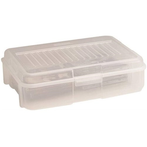Rubbermaid Rmoc018001 Stackable Storage Container 1 8 Gallon Free Shipping On Orders Over 45 20010393