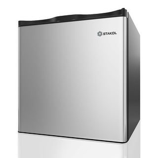 STAKOL 1.1 cu.ft. Compact Single Door Mini Upright Freezer ( Not sold to consumers located in California) - as pic