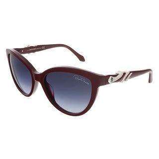 Roberto Cavalli RC878S/S 68W Maroon Cat Eye sunglasses - 55-18-135