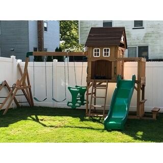Shop Backyard Discovery Montpelier All Cedar Swing Set ...