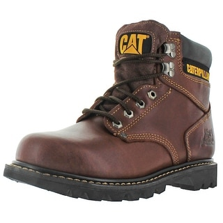 "Caterpillar CAT Second Shift Men's 6"" Boots Leather"