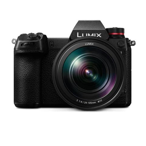 Panasonic LUMIX S1 24.2MP Digital Mirrorless Camera with 24-105mm Lens