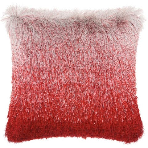 Mina Victory Shag Illusion Ombre Throw Pillow by Nourison