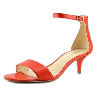 Nine West Leisa Women Open Toe Leather Sandals