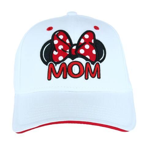 Jerry Leigh Women's Minnie Mouse Mom Baseball Cap
