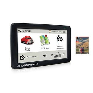 """Refurbished """"Rand McNally TND730LM with 2018 Deluxe MCR Atlas Rand McNally TND530"""""""
