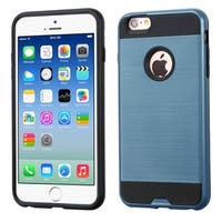 Insten Dual Layer Hybrid Rubberized Hard PC/ Silicone Case Cover For Apple iPhone 6/ 6s