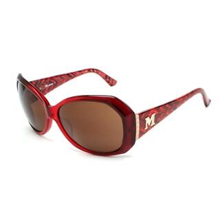 Missoni Women's Zig Zag Oversized Sunglasses Red - Small