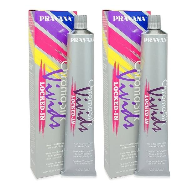 PRAVANA ChromaSilk Vivids (Locked in Purple) 3 Fl 0z - 2 Pack