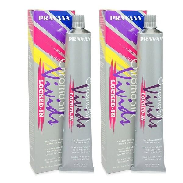 PRAVANA ChromaSilk Vivids (Locked in Teal) 3 Fl 0z - 2 Pack