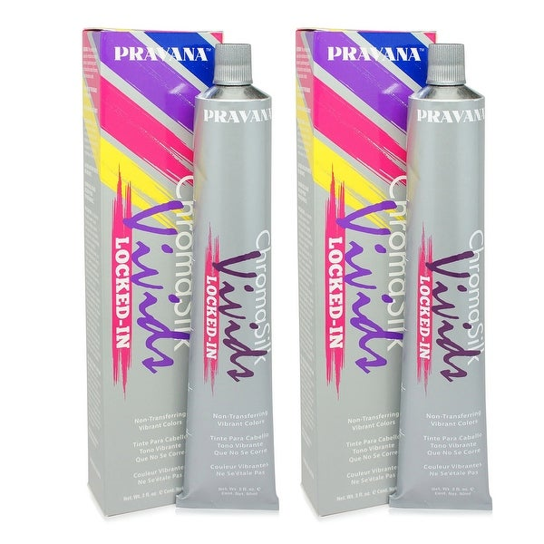 PRAVANA ChromaSilk Vivids (Locked in Yellow) 3 Fl 0z - 2 Pack