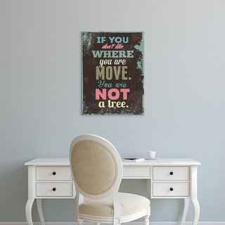 Easy Art Prints GraphINC's 'If You Don't Like' Premium Canvas Art
