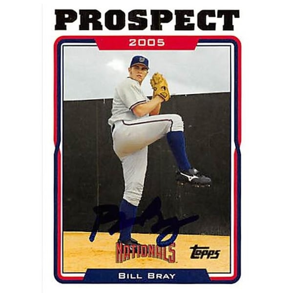 c5583c405a0 Shop Washington Nationals Ft 2006 Topps Prospect No. Uh93 Bill Bray ed -  Free Shipping On Orders Over  45 - Overstock - 23992352