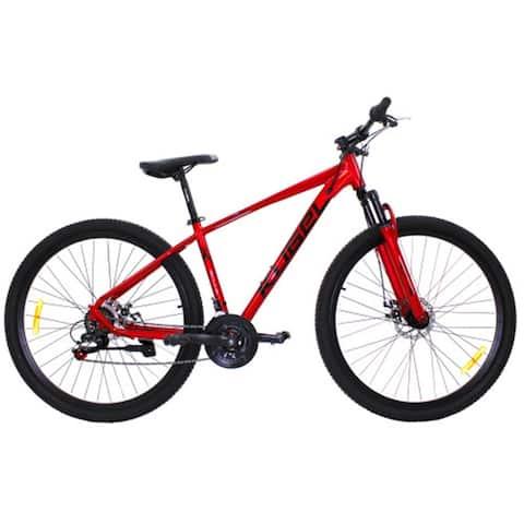 AOOLIVE Adult Red Mountain Bike 29 Inch Kugel,Aluminium