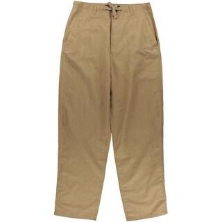 Sean John Mens Big & Tall Linen Drawstring Casual Pants - 38t