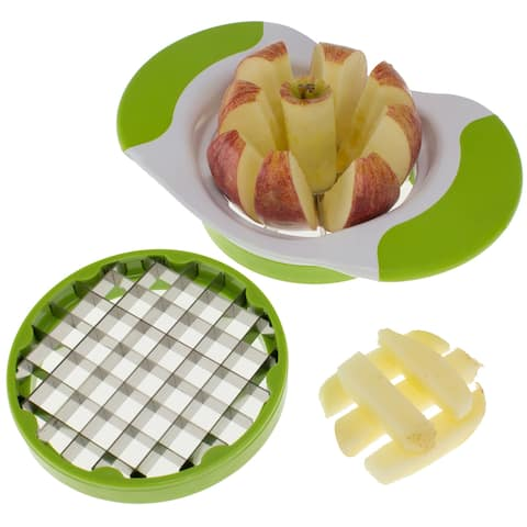 2-in-1 Fruit and Vegetable Cutter