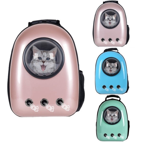 Shop Costway Astronaut Pet Cat Dog Puppy Carrier Travel Bag