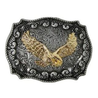 CTM® Eagle Western Belt Buckle