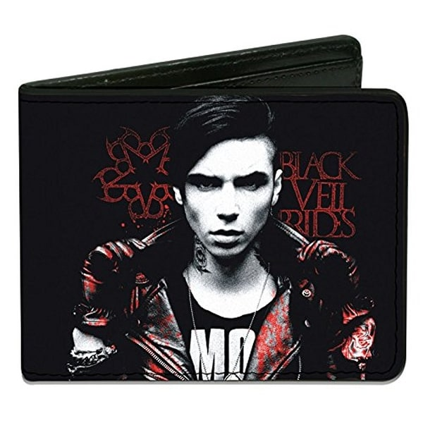 Buckle-Down Bifold Wallet Black Veil Brides