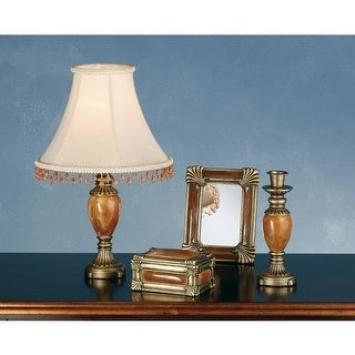 Meyda Tiffany 69537 Lamp Sets from the Boca Raton Collection